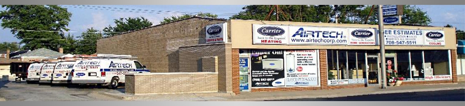 Visit AIRTECH Heating & Air Conditioning at their office in Bellwood IL for great Furnace repair service.