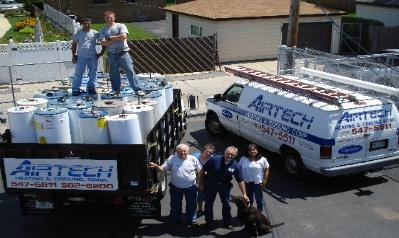 Airtech has service trucks ready for your AC replacement service in Bellwood IL